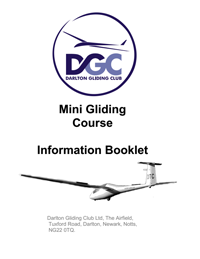 Mini Gliding Course Booklet image